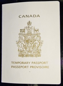 Emergency Canadian Passport